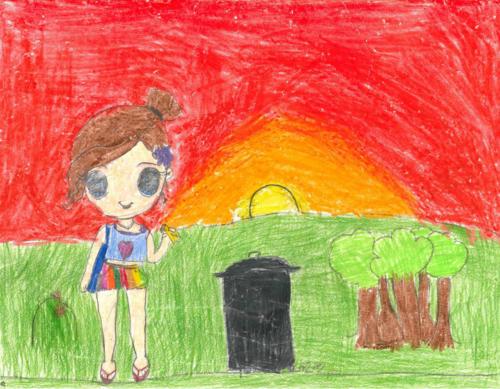 Kaedyn, Grade 3, Chilliwack